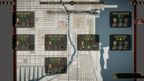 Empire of Sin map chicago