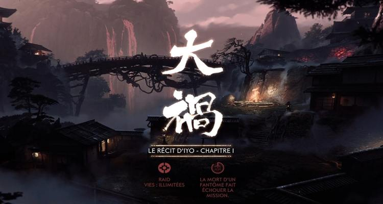 Raid Ghost of Tsushima Chapitre1