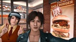 Judgment Selfie au Smile Burger