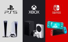 Comparateur PS5 xbox switch