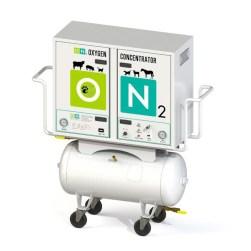 Système d'oxygène vétérinaire
