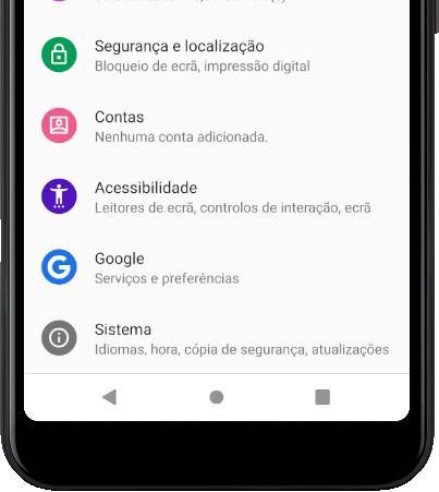 Ícone sistema Android