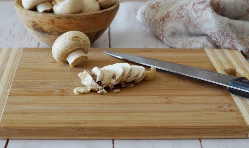 polpette di ricotta con funghi ingredienti