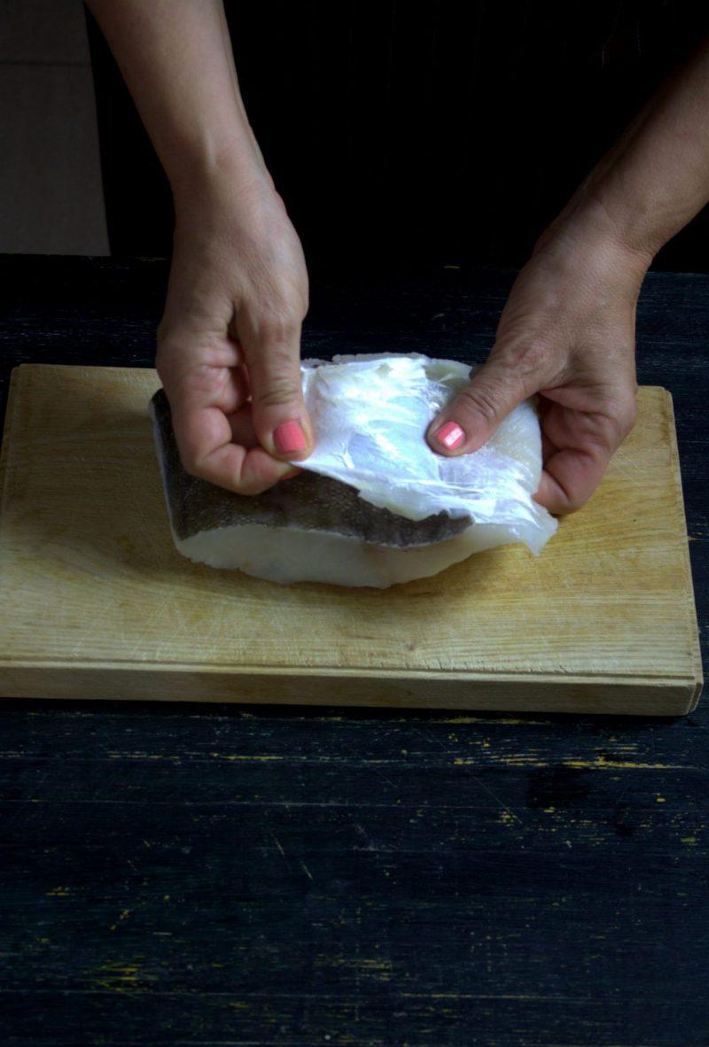 zuppa di baccalà e fagioli pesce