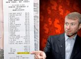 Pranzo da 52.000 dollari per Roman Abramovich