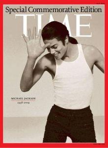 La copertina dell'edizione speciale di Time dedicata a Michael Jackson