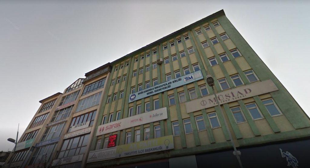 Doğu Anadolu İhracatçılar Birliği - Binası