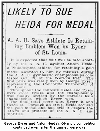 Eyser & Heida's Medal Fight