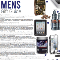 Mens Christmas Gift Guide in Niche magazine features Distinctive Wash!