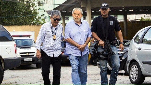 Lula, detenido