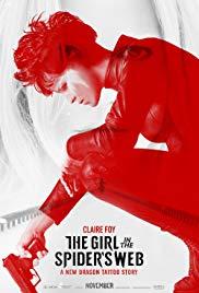 Millennium: Lo que no te mata te hace más fuerte – The Girl In The Spider's Web