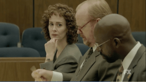 """Sarah Paulson plays Marcia Clark in """"The People vs. O.J. Simpson""""  Photo from FX"""