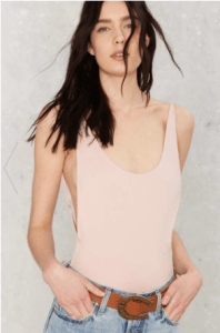 "Nasty Gal's ""Two Scoops"" Bodysuit"