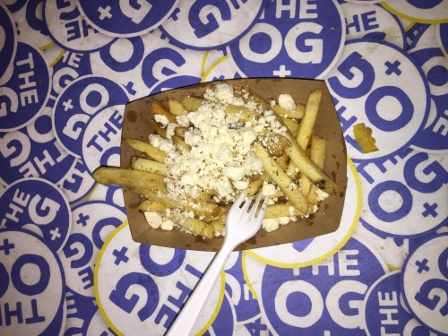 The Original Greek offered authentic Greek-food, such as their version of french fries and cottage cheese. The food truck has been using family recipes passed down through many generations for years.