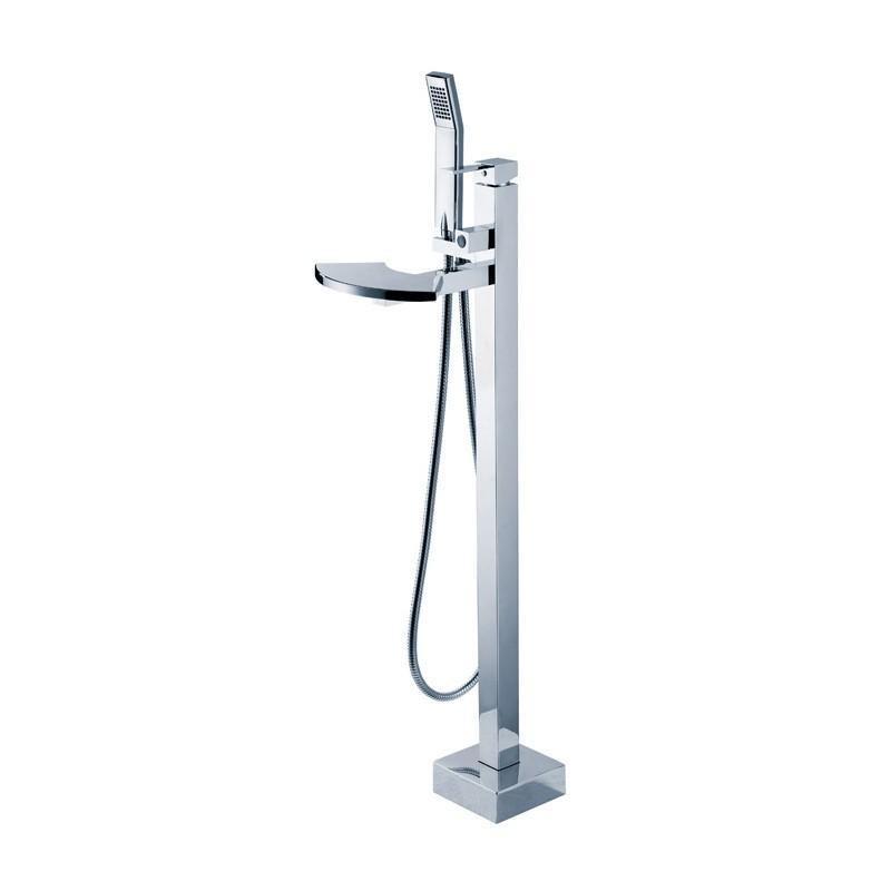 robinet pour baignoire ilot sur pied e101
