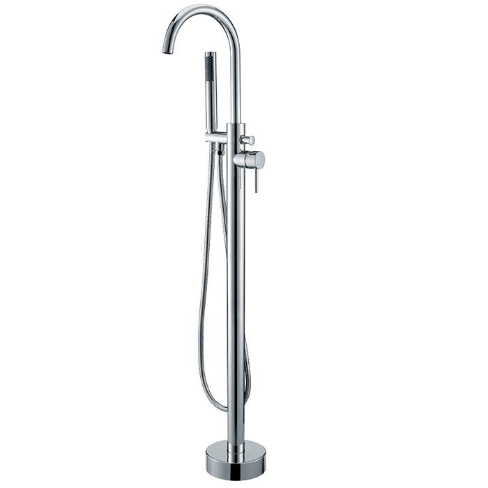 robinetterie colonne pour baignoire ilot e102