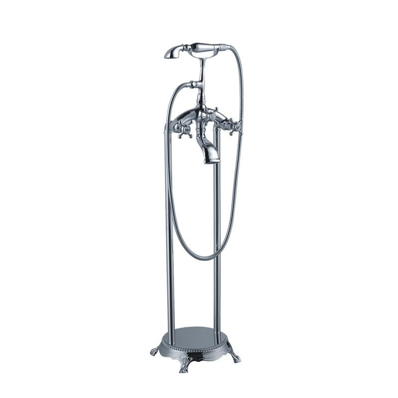 robinet sur pied pour baignoire ilot e105