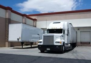 bigstockphoto_Truck_At_Loading_Bay_5248340