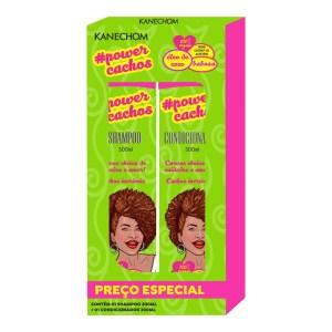 Kanechom Shampoo Y Acondicionador Power Cachos