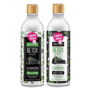 Kit Shampoo Y Acondicionador Happy Anne Carbon