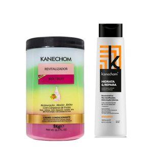 Kit Kanechom Mix Fruit y Shampoo Hidrata y Repara