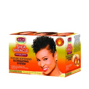 African Pride Shea Miracle Kit Texture Softening x 5