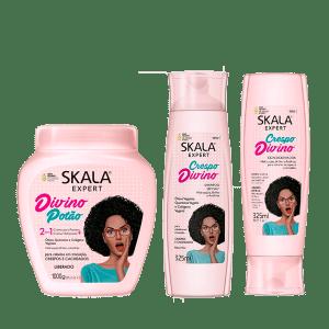 Kit Skala Divino Potao Tratamiento Shampoo y Acondicionador