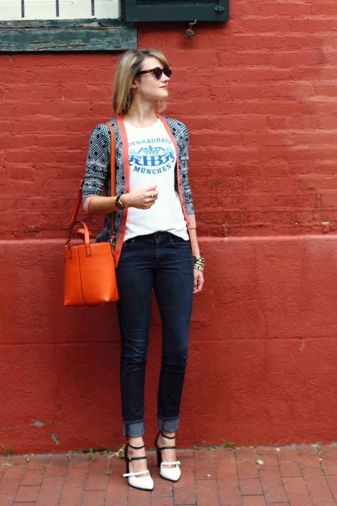 District of Chic preppy eclectic outfit