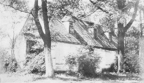 Cottage of David Burnes, Original Proprietor