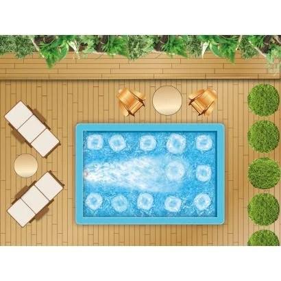 spa de nage beton kit complet filtration ncc balneo