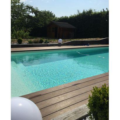 piscine en kit construction traditionnelle beton luxe