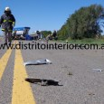 Dos personas murieron y dos resultaron con heridas de consideración. Esta tarde, pasadas las 13:30 horas, un automóvil Ranault Clió fue impactado en uno de los laterales por una pick […]