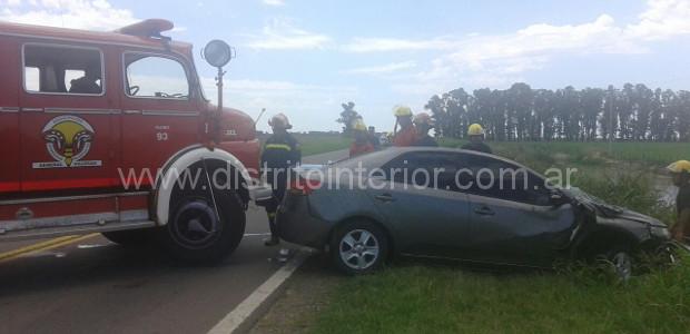 El accidente tuvo lugar cerca de las 14:30 hs. en cercanías de la balanza ubicada a metros del aero club. Los protagonistas fueron un automóvil Ford Focus conducido por el […]