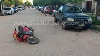 En esta oportunidad, a las 19:00 hs. una moto Appia 110 cc. que circulaba por Belgrano frente a la sucursal del banco Provincia con dos mujeres a bordo, Monica Silvia […]
