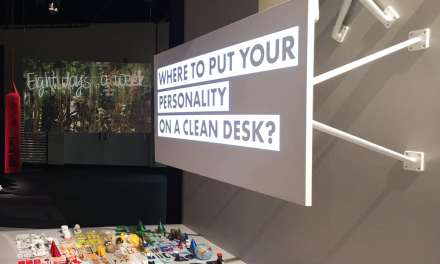 ¿Dónde queda tu personalidad en una mesa limpia? Rework, Orgatec 2016