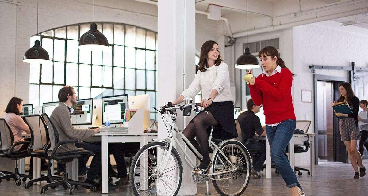 ¿Qué hace una bicicleta en mi oficina?