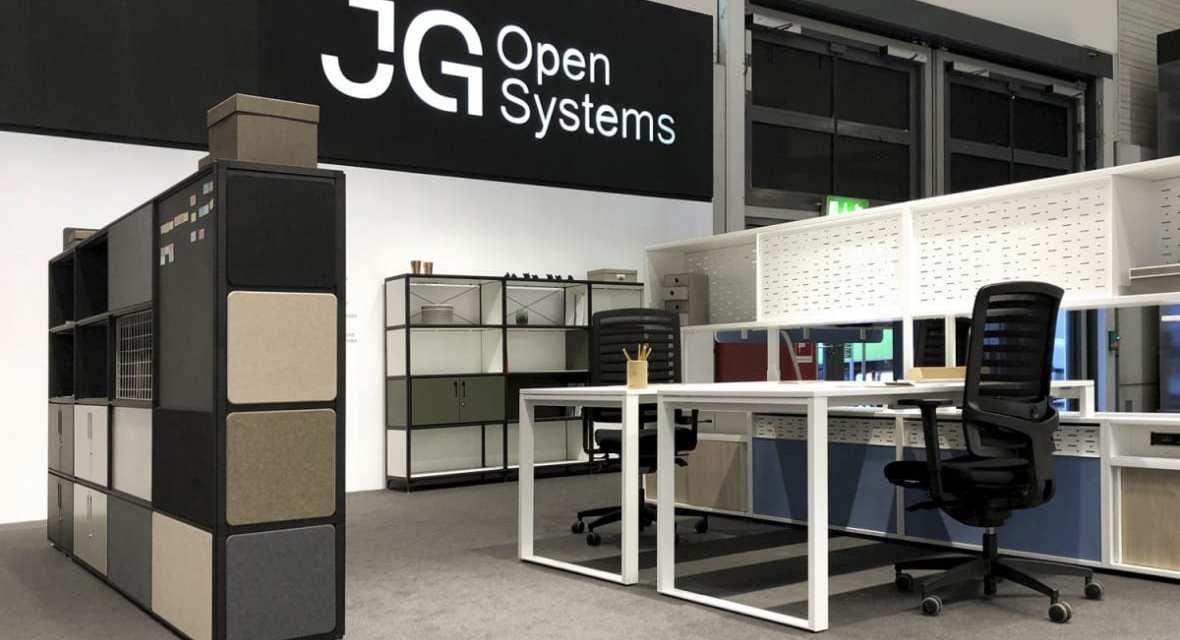 JG Open Systems presenta nueva identidad en Orgatec