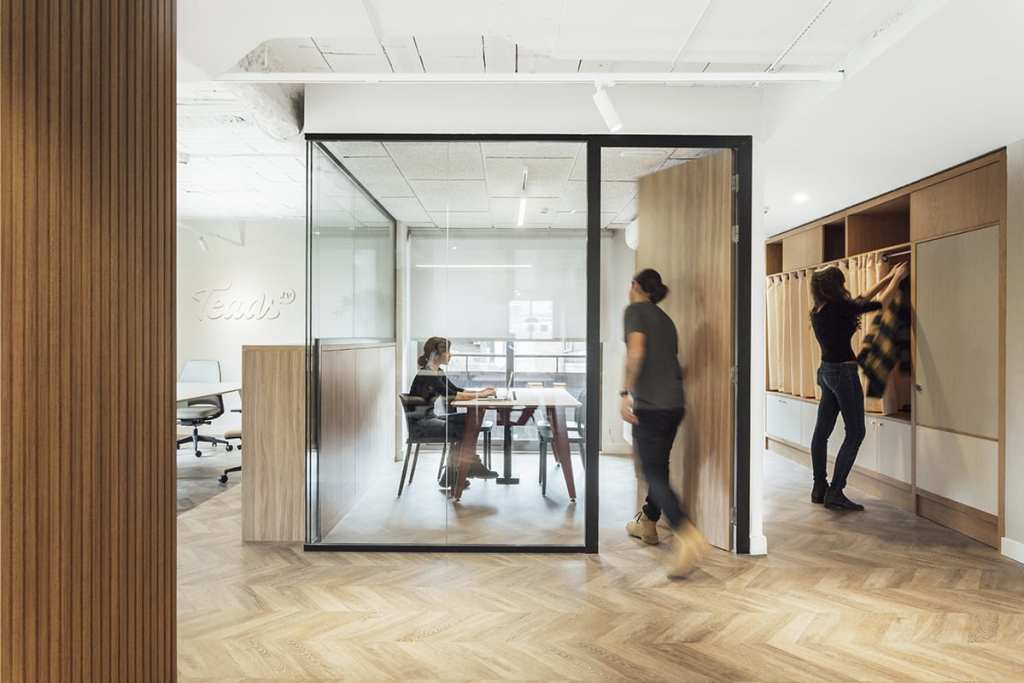 Teads TV offices by Stone Designs