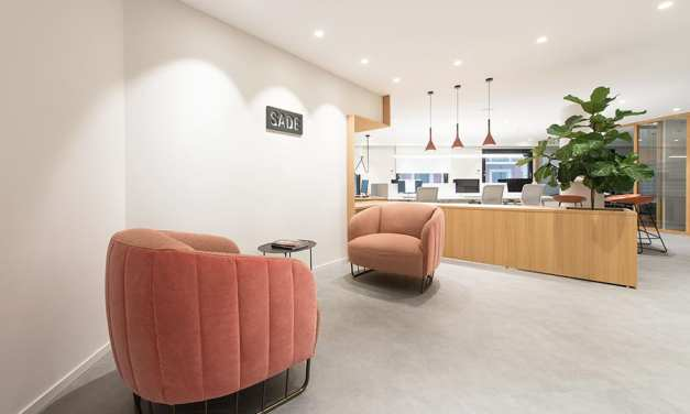 Oficinas para el Grupo S.A.D.E. en Donostia, de Kanpo Arquitectos