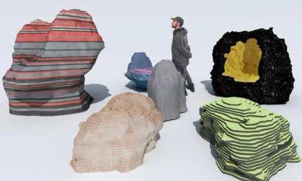 Astral Bodies, los meteoritos de Finsa según Enorme Studio