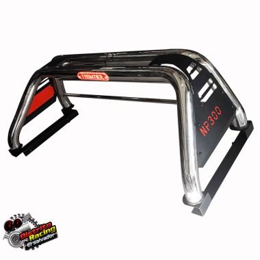 Roll Bar - Antivuelco con Stop - 4x4 - Nissan NP300 - FRONTIER - NAVARA