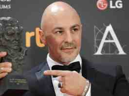 Roberto Álamo gana el Goya al Mejor Actor Protagonista por 'Que dios nos perdone'