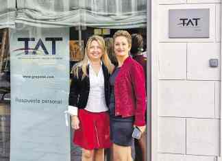Presentación del concurso para comercios patrocinado por TAT
