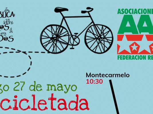 27M Bicicletada por la educación pública