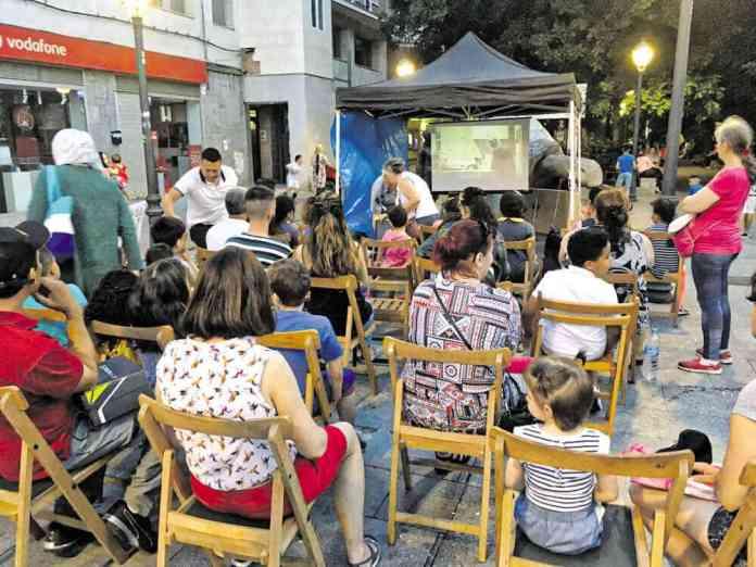 Proyecciones de cine en Vllaverde