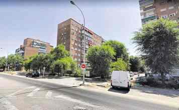 Ubicación del futuro PAL-M-40 en la calle Eduardo Barreiros.