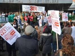 Protestas en el Hospital 12 de Octubre
