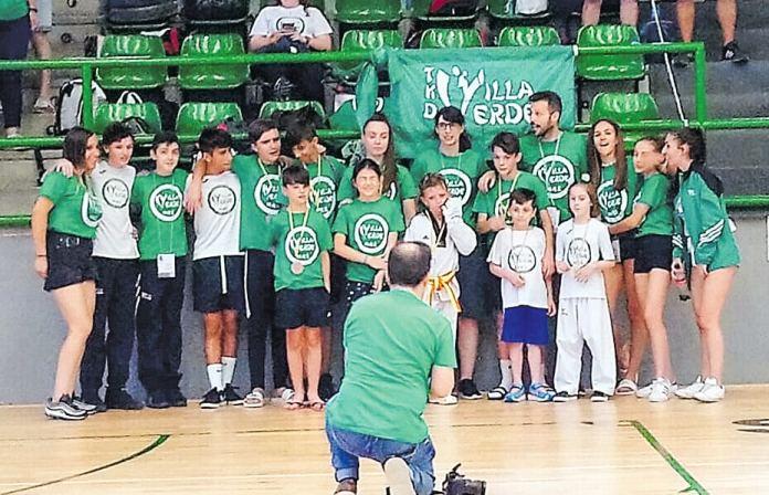 Taekondo Villaverde en el Open Ciudad de Segovia