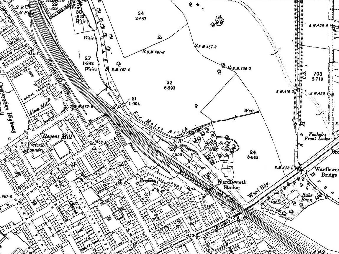 Disused Stations Wardleworth Station