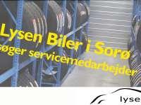 Lysen Biler søger servicemedarbejder